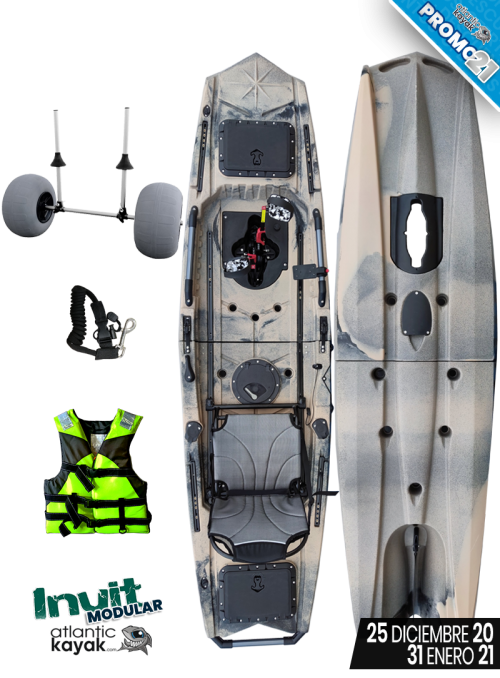 PALA de ALUMINIO DESMONTABLE para kayak
