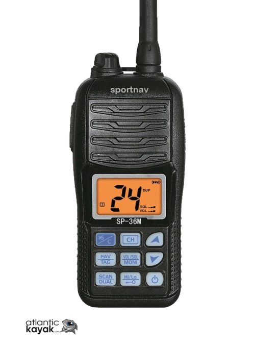 RADIO VHF PORTÁTIL SPORTNAV...