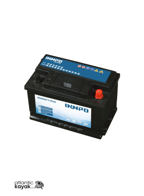 INNPO BATTERY 75AH NAVY AND...