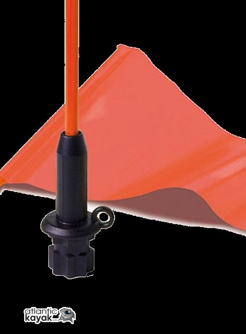 Varilla banderin - base negra