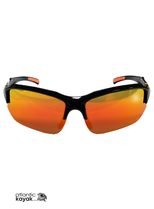 BLACK/ORANGE POLARIZED...